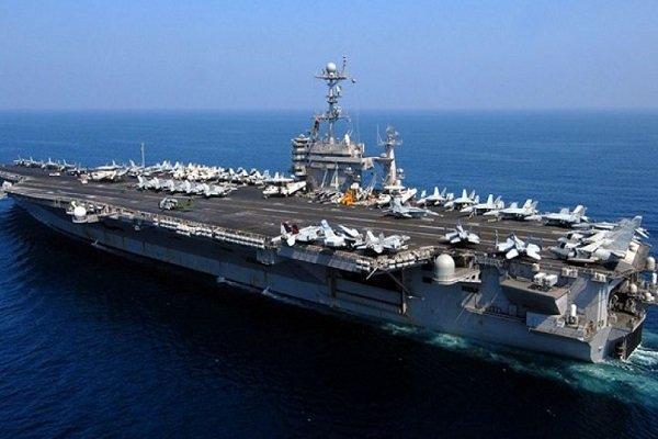 ناو هواپیمابر آمریکا پس از 8 ماه دوباره وارد خلیج فارس شد