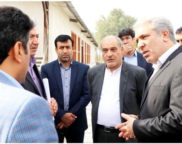 رئیس سازمان میراث فرهنگی از مجموعه گردشگری نخلستان صفاآباد گورزین قشم بازدید کرد