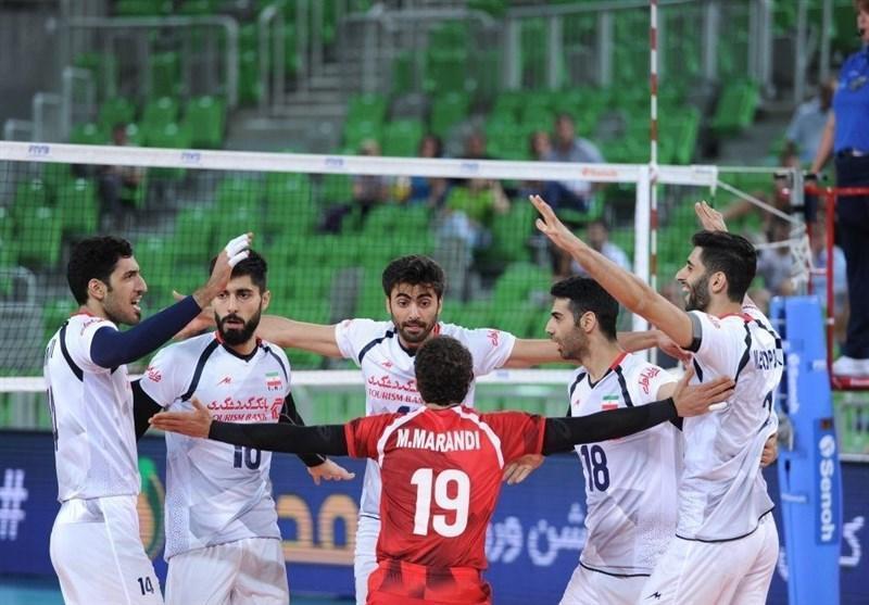 حریفان تیم ملی والیبال ایران برای رسیدن به المپیک 2020 معین شدند