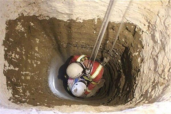 سقوط یک فرد به داخل چاه 12 متری در روستای سربندان دماوند