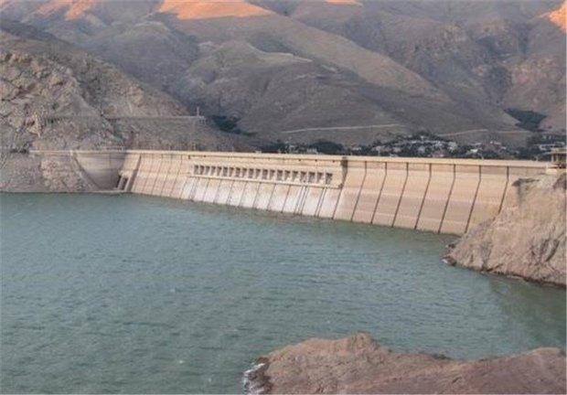 افزایش حجم ورودی آب سدهای استان ایلام