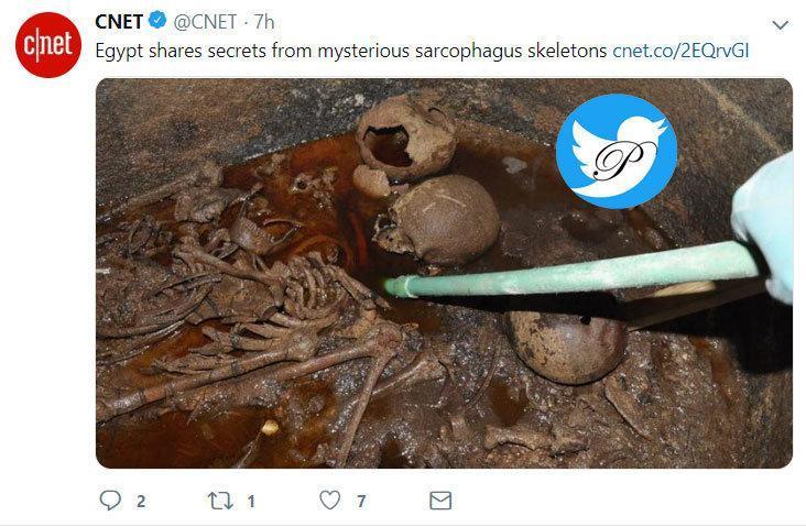 راز آب قرمز داخل تابوت سنگی کشف شده در مصر چیست؟