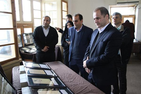 افتتاح نمایشگاه اسناد تاریخی انقلاب مشروطه گیلان