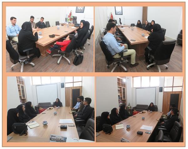 جلسه توجیهی راهنمایان گردشگری نوروز 98 در شهرستان فردوس
