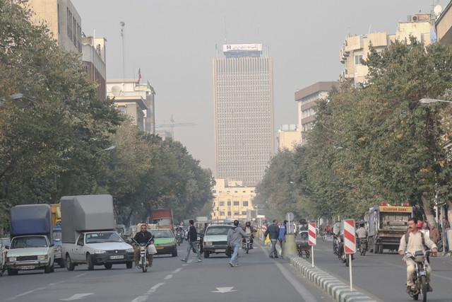 پیش بینی افزایش غلظت آلاینده ازن در هوای پایتخت
