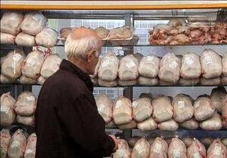 افزایش قیمت مرغ در میادین و بازار