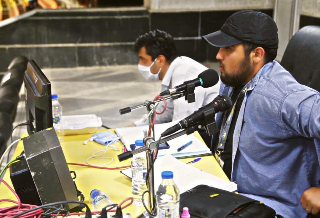 خبرنگاران جوان ارومیه ای در جمع گزارشگران لیگ برتر فوتبال نهاده شد