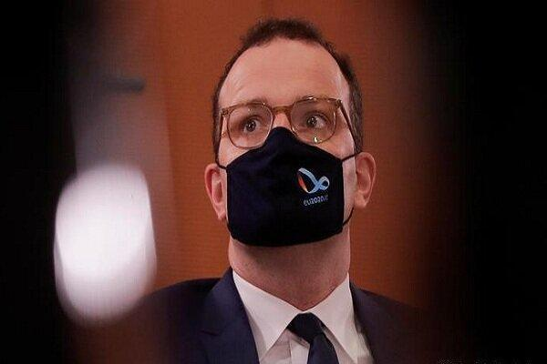 وزیر بهداشت آلمان به کرونا مبتلا شد