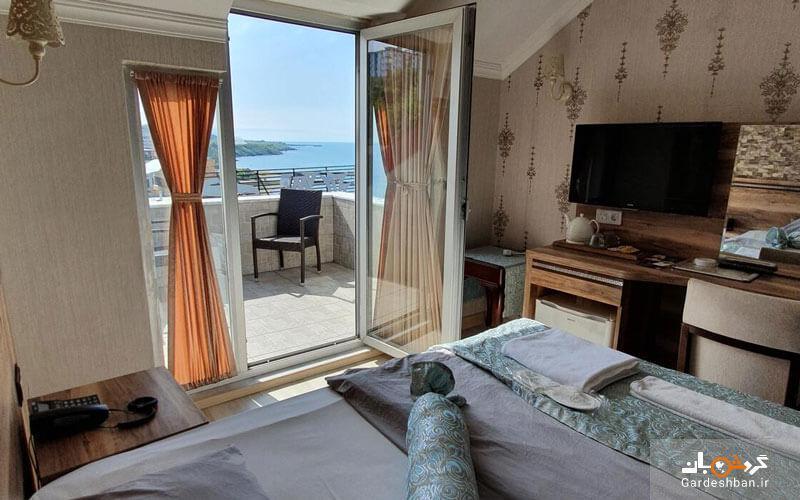 هتل فنگو ترابزون، هتلی3ستاره و زیبا در ساحل ترکیه، عکس