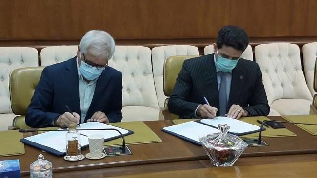 اتاق ایران، امضای تفاهم نامه دو جانبه همکاری میان سازمان منطقه آزاد کیش و کمیسیون گردشگری اتاق ایران