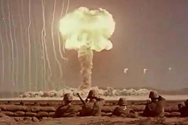 تصاویری از نوادا پس از انفجار هسته ای