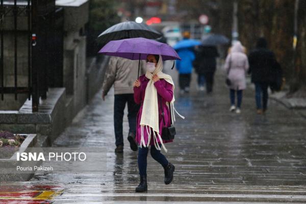 تداوم بارش ها در کشور، بارش شدید در 6 استان